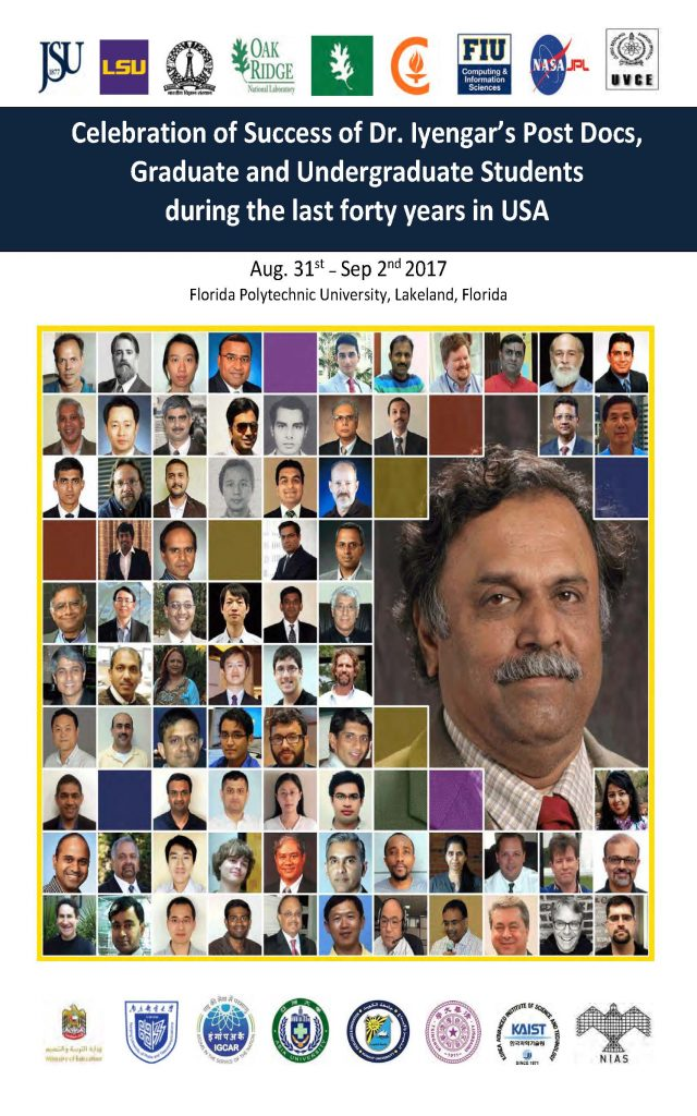 PDF Cover Image of Booklet of Dr. Iyengar's Students in the last 40 years - ISSNSS