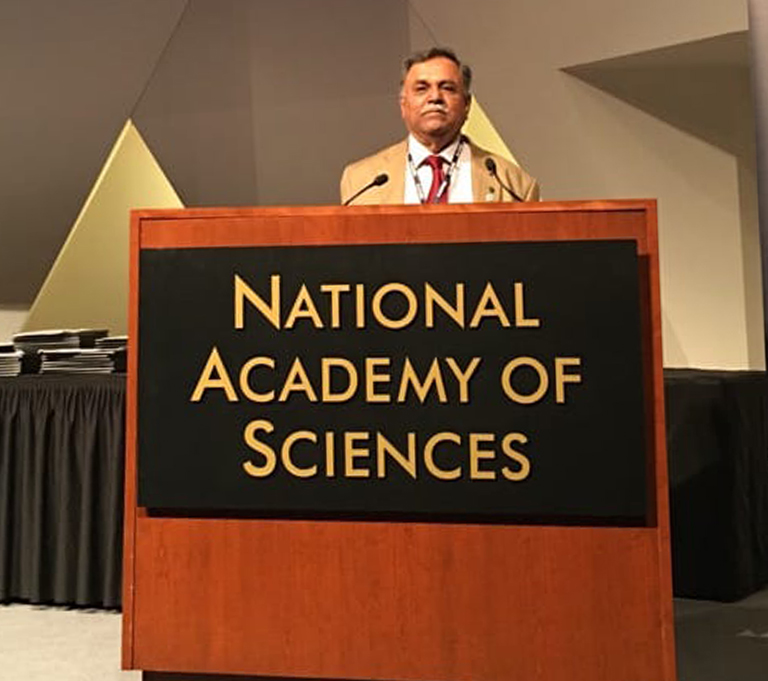 Dr. Iyengar at the National Academy of Sciences